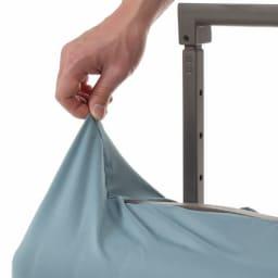 &P スーツケース/キャリーケースカバー 伸縮性の高いジャージ素材