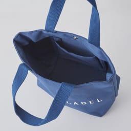 プライベートレーベル ミニトートバッグ 内側には小物を収納出来る、吊オープンポケット付。