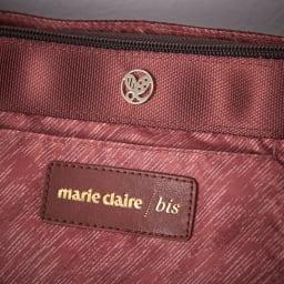 marie claire bis(マリクレール ビス)/底マチが広がる横型ショルダーバッグ