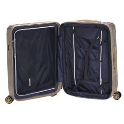トライデント/拡張式ハードジッパースーツケース|キャリーケース・キャリーバッグ Inside