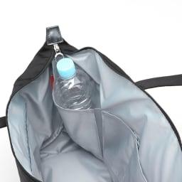 カナナプロジェクト/トートバッグ A4サイズ (ア)ペットボトルホルダー(ペットボトルや水筒を立てて収納出来るホルダー付)(※商品番号:NV25-92の画像を使用しています)