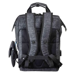 エンドー鞄/NEOPRO(ネオプロ) CONNECT ダレスパック|リュック (ウ)杢調ブラック/Back