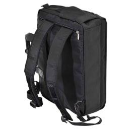 エンドー鞄/NEOPRO(ネオプロ) DELLIGHT 3WAYブリーフ (ア)ブラック/リュックとして