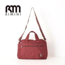 RIMINI(リミニ)/アトリエ ボストンバッグ 大サイズ (イ)ワイン
