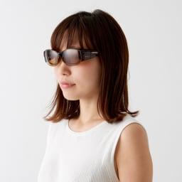 SWANS/オーバーグラス サングラス メガネの上から着用できます