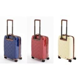 (Lサイズ 4輪/100L/4.36kg)Stratic(ストラティック)/「Leather & More」日本限定版 ハードスーツケース 大型(3-9902-75)|キャリーケース・キャリーバッグ Sサイズ/(ア)ネイビーブルー、(イ)カーマインレッド、(ウ)ミルク