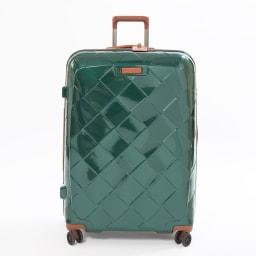 (Lサイズ 100L 4.36kg)Stratic(ストラティック)/「Leather & More」スーツケース|キャリーケース・キャリーバッグ (ア)ダークグリーンLサイズ