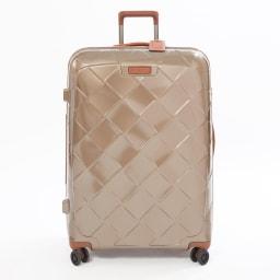 (Lサイズ 100L 4.36kg)Stratic(ストラティック)/「Leather & More」スーツケース|キャリーケース・キャリーバッグ (イ)シャンパンLサイズ