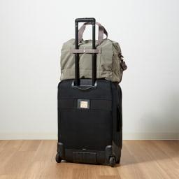 WORLD TRAVELER(ワールドトラベラー) カペラ|ボストンバッグ スーツケースにセットアップできるベルト付き