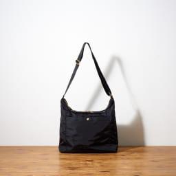 marie claire bis(マリ・クレール ビス)/パメラ 舟形ショルダーバッグ (ア)ブラック…Back