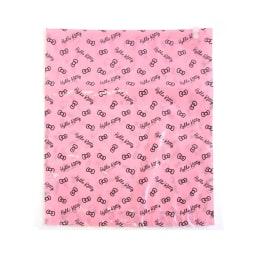 Hello Kitty(ハローキティ)/衣類圧縮袋 スタンダードロゴ(Lサイズ 4枚セット)