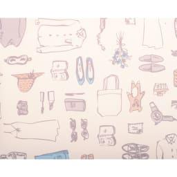 ACE HaNT(ハント) フロントポケット付スーツケース 内装 (ウ)ダリアベージュ