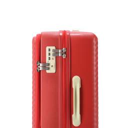 ACE HaNT(ハント) フロントポケット付スーツケース TSAダイヤル錠ロック(南京錠、鍵は付いていません)
