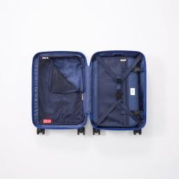 M / mika ninagawa(エム/ミカ ニナガワ)×ace.(エース)|35L スーツケース (ウ)ブルー柄