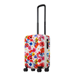 M / mika ninagawa(エム/ミカ ニナガワ)×ace.(エース)|35L スーツケース (ア)ホワイト柄