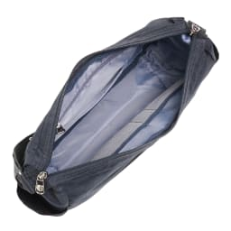 WORLD TRAVELER(ワールドトラベラー)/リンク 舟形ショルダーバッグ 内装は小物の収納に便利なポケットが。
