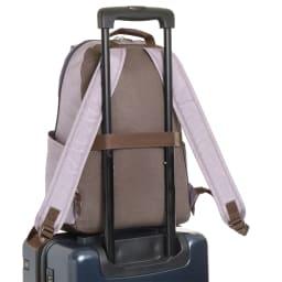 WORLD TRAVELER(ワールドトラベラー)/リンク スリムリュック お持ちのキャリーバッグに取付けられる、セットアップ機能付。