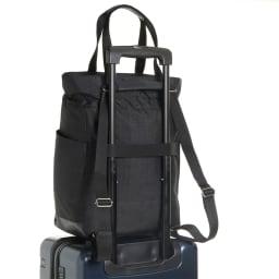 WORLD TRAVELER(ワールドトラベラー)/リンク トート型リュック お持ちのキャリーバッグに取付けられる、セットアップ機能付。