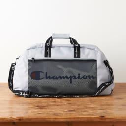 チャンピオン/Champion ユージン ボストンバッグ (ウ)グレー