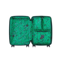 ACE HaNT(ハント)/ソロ ストッパー付スーツケース 53L 本体内装…(ア)トルマリングリーン