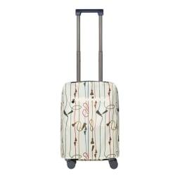 ACE HaNT(ハント)/ソロ ストッパー付スーツケース 53L ラゲージカバー付き…(イ)トパーズブルー
