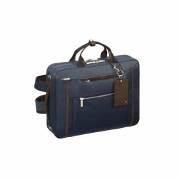 ace.GENE(エース ジーン)/ビエナ2 毎日の通勤に ビジネススタイルにも使いやすい3WAY仕様ビジネスバッグ (イ)ネイビー