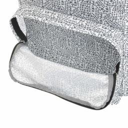 adidas(アディダス)/スクエアリュック 前ファスナーポケット2