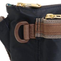 WORLD TRAVELER(ワールドトラベラー)/薄マチショルダーバッグ 様々な用途で使えるDカン付き