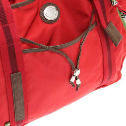 Orobianco(オロビアンコ)/3WAYトートバッグ 本体上部を周回する革紐がアクセントに(1)