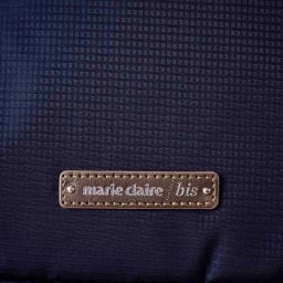 marie claire bis(マリ・クレール ビス)/エブド コンパクトリュック (イ)ネイビー…生地アップ