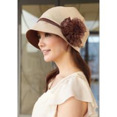 COGIT(コジット)/帽子作家のスッピン隠しふんわりレース飾り帽子