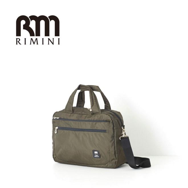 RIMINI(リミニ)/アトリエ ボストンバッグ 小サイズ (ア)ブラック