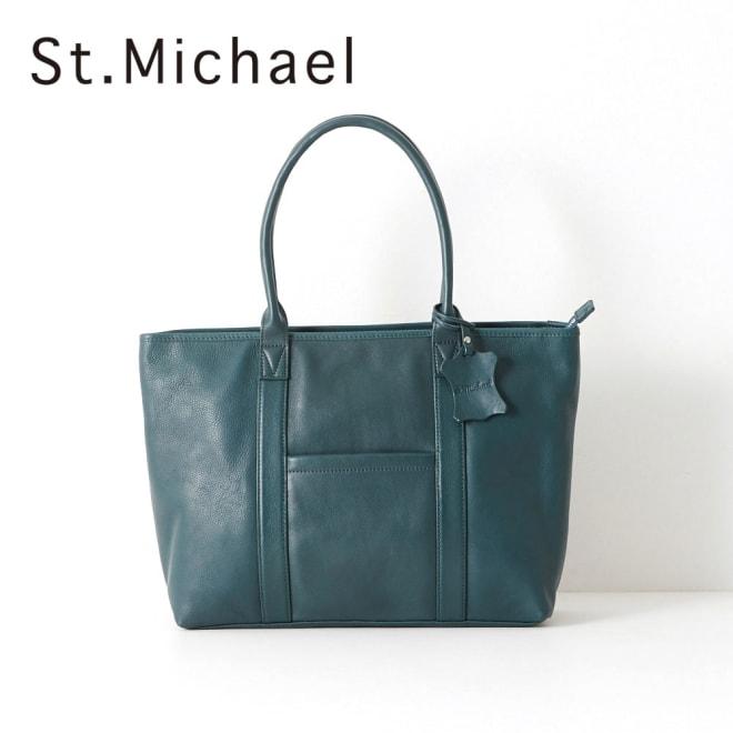 St.Michael(セントミッシェル)/トートバッグ (ウ)ブルー