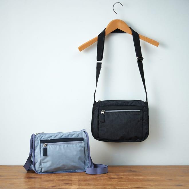 ace.TOKYO(エース トウキョウ)/フェズフォルド こぶりながら多ポケットのショルダーバッグ