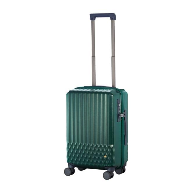 ACE HaNT(ハント)/ソロ ストッパー付スーツケース 32L (ア)トルマリングリーン