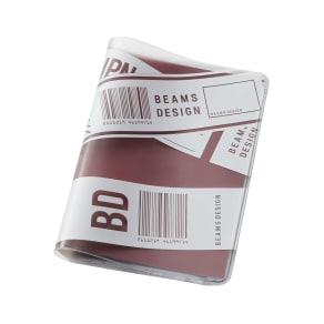 BEAMS DESIGN(ビームス デザイン)/クリアパスポートカバー バーコード 写真