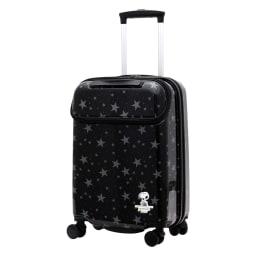 シフレ/スヌーピー スーツケース 33L (ア)スターブラック