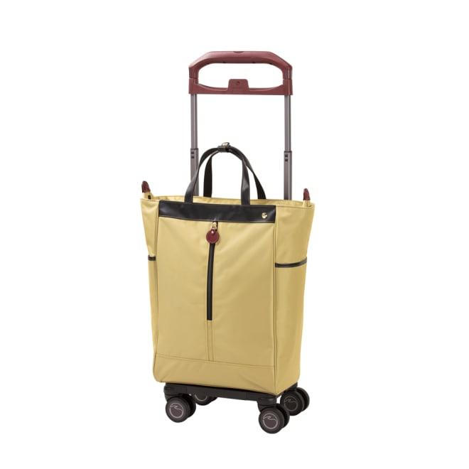 SOELTE/アルディートTR 普段のお出かけをしっかり支えるトローリーバッグ (ア)イエローグリーン