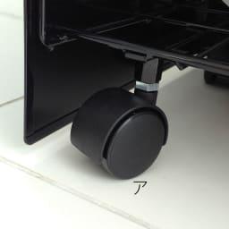 FRAMES&SONS(フレームズアンドサンズ)/kakusu(カクス)シリーズ レジ袋ダストボックス-3分別 隠しキャスターで掃除の際の移動もらくらく