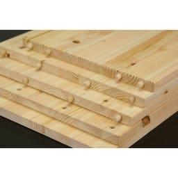 橋本達之助工芸/国産 紀州檜天然木 3WAYティッシュケースボックス 檜板イメージ