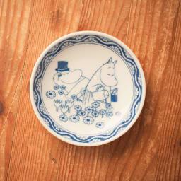 amabro(アマブロ)/MOOMIN×amabro SOMETSUKE 有田焼手塩皿5枚セット BOX付き ムーミンパパとママ