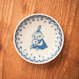 amabro(アマブロ)/MOOMIN×amabro SOMETSUKE 有田焼手塩皿5枚セット BOX付き リトルミイ