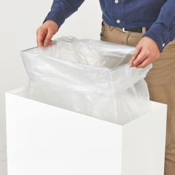 FRAMES&SONS(フレームズアンドサンズ)/SLANT ダストボックス45L(2分別対応可) 袋枠は取り外し可能