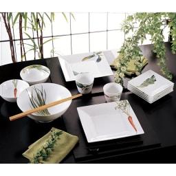 Noritake(ノリタケ)/京香旬彩 14cmボウル 5個セット(絵変り)|洋食器