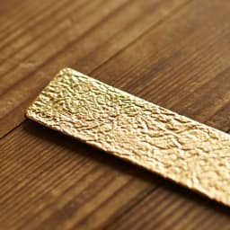 NAGAE+(ナガエプリュス)/TIN BREATH ティンブレス ブレスレット ゴールド色 NAGAE+ロゴ TIN JAPANの刻印入り