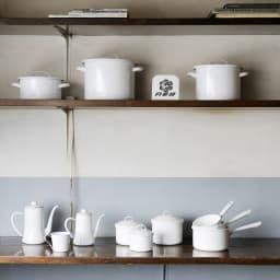 月兎印/琺瑯鍋ソースパン 12cm|片手鍋