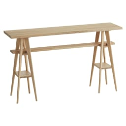 国産タモ天然木オーダーカウンタテーブル 幅150cm