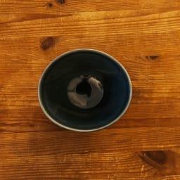 ARITA PORCELAIN LAB(アリタ・ポーセリン・ラボ)/なぶり鉢(小)sumi/墨ルリ 有田焼 上部