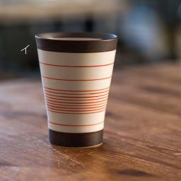 ARITA PORCELAIN LAB(アリタ・ポーセリン・ラボ)/フリーカップ 呉須錆線紋|有田焼 イ:赤