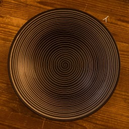 ARITA PORCELAIN LAB(アリタ・ポーセリン・ラボ)/多用鉢 sabi/錆|有田焼 イ:錆千段 上面